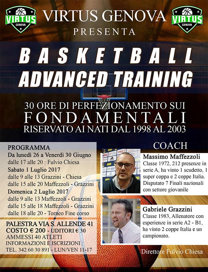 basketball advanced training